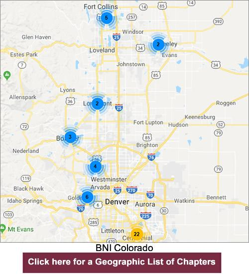 BNI Colorado Chapters | business networking, referral marketing ...